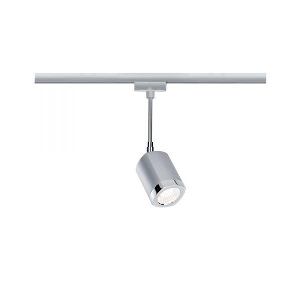 Paulmann URail LED Spot Wankel 5,4W Chrom matt