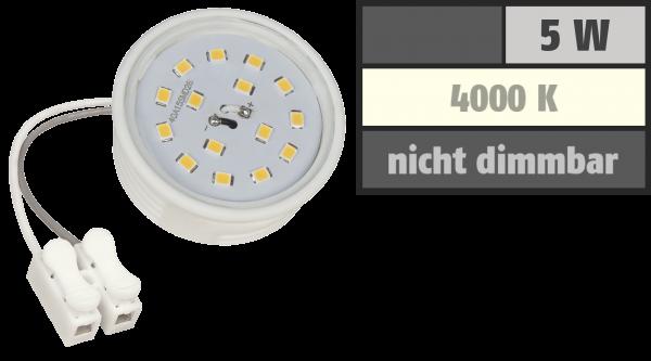 LED-Modul McShine, 5W, 400 Lumen, 230V, 50x23mm, neutralweiß, 4000K