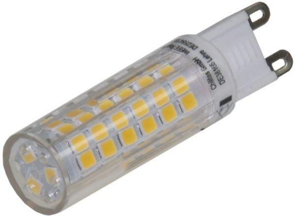 LED Stiftsockel G9, 6W, 540lm 3000k, 330°, 230V, warmweiß