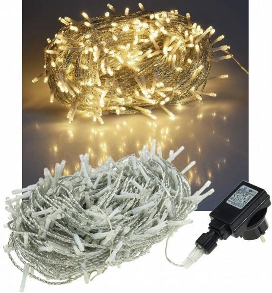 LED Außen-Lichterkette CT-ALK600 60m