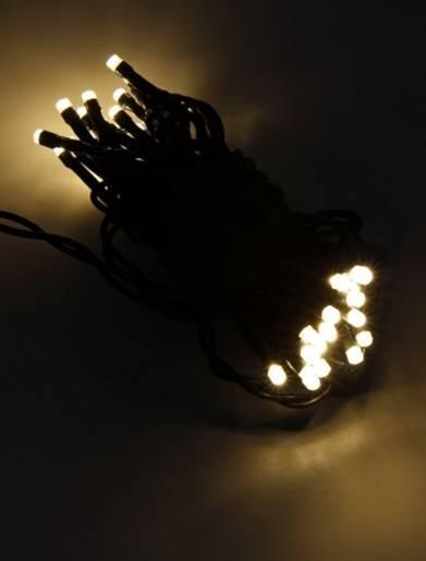 LED-Lichterkette mit 35 LEDs 4,2m Länge inkl. Zuleitung für den Innenbereich Warmweiß