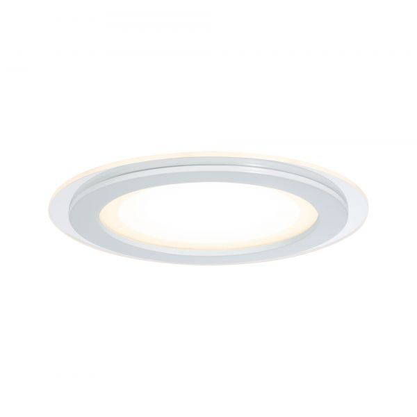 Paulmann Premium EBL Set DecoDot rund LED 2x7,5W 18VA 160mm Klar/Weiß Glas/Metall
