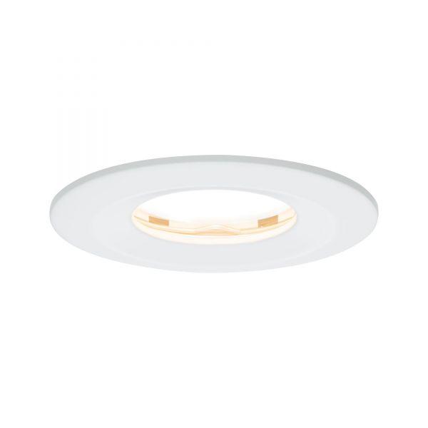 Paulmann Einbauleuchten-Set LED Coin Slim IP65 6,8W dimmbar weiß