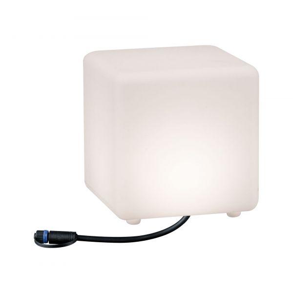 Paulmann Outdoor Plug & Shine Lichtobjekt Cube IP67 3000K 235lm 24V
