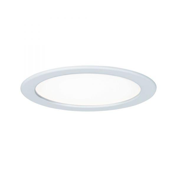Paulmann Quality EBL Set Panel rund LED 1x18W 4000K 230V 220mm Weiß/Kunststoff