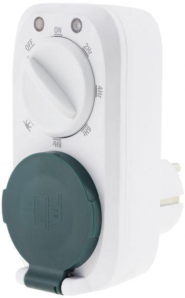 analoge Zeitschaltuhr mit Dämmerungs- & Countdown-Funktion, 16A, 3600W, IP44