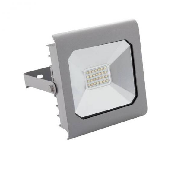 20 Watt LED Fluter 1.500 Lumen von Kanlux IP65 Grau Neutralweiß