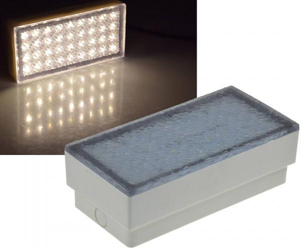 LED Pflasterstein BRIKX 20 warmweiß 180lm 3W