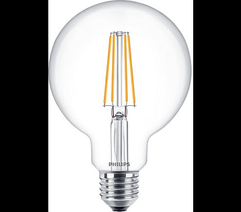 Philips Classic LEDbulb E27 8 W klar Filament dimmbar