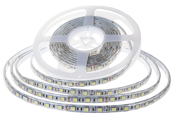 LED-Stripe 60LED/m, 1000lm/m, 10,8W/m, 12V, warmweiß 3000k, 5m, IP65