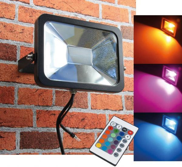 LED-Fluter SlimLine CTF-SL30W RGB