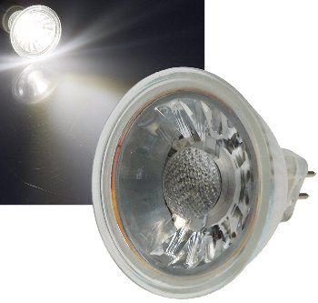 "LED Strahler MR16 ""H35 COB"" 1 COB, 4000k, 250lm, 12V/3W,neutralweiß"