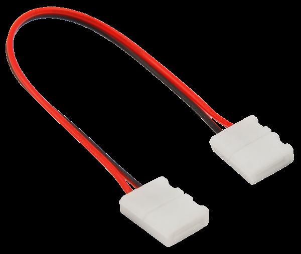 Verbinder für LED-Stripe, flexibel, 2Pin auf 2Pin, 8mm