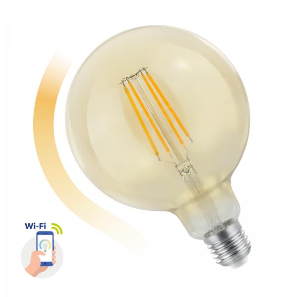 Spectrum LED Globe 5.5W E-27 COG dimmbar Spectrum Smart