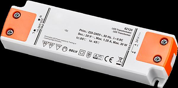 LED Trafo 30W, elektonisch, 24V DC, dimmbar