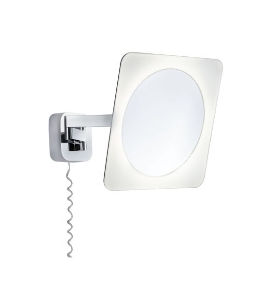 Paulmann WallCeiling Bela Kosmetikspiegel IP44 LED 5,7W Chrom/Ws/Spiegel 230V Met/Acr