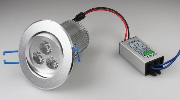 LED-Einbauleuchte RD-9 9W 400lm
