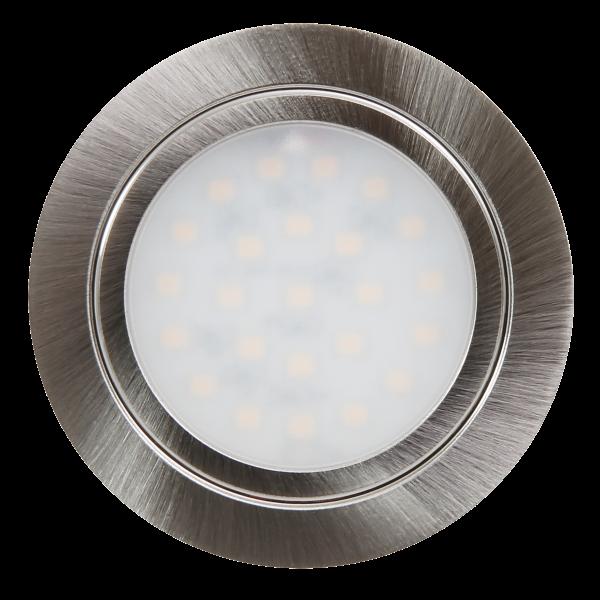 LED-Möbelleuchte McShine LM-12 2,4W, 160lm Ø65,5x10,7mm, warmweiß