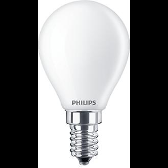 Philips Classic LEDluster Tropfen 4,3W E14 matt