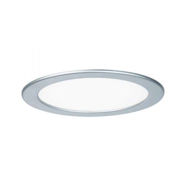 Paulmann Quality EBL Set Panel rund LED 1x18W 4000K 230V 220mm Chrom matt/Kunststoff