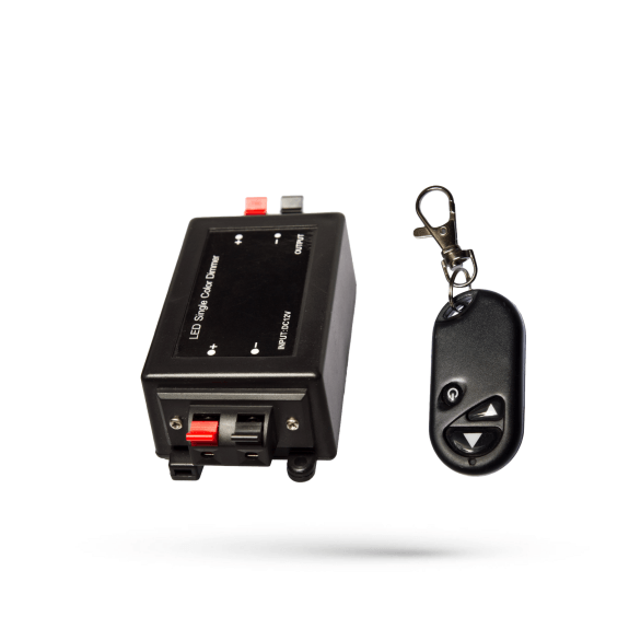 LED Single Color Dimmer für LED Stripes bis 96 Watt mit Fernbedienung