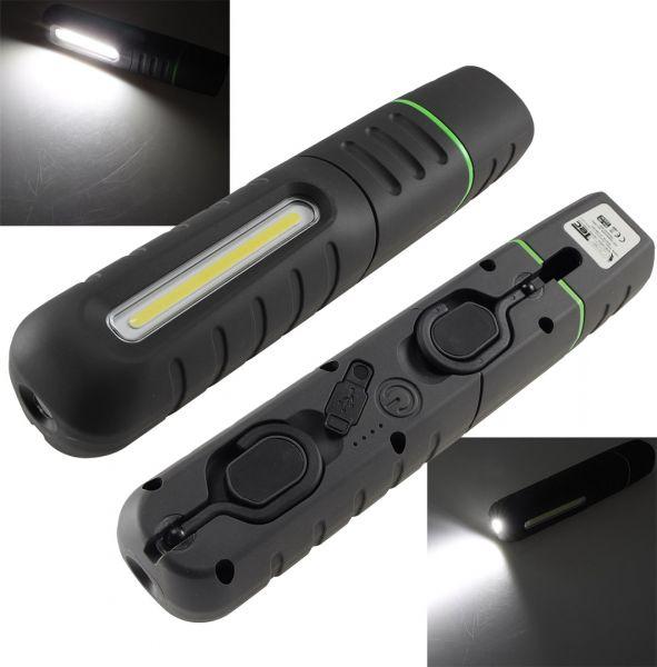 """LED Stableuchte mit Akku """"FlexiLED 900"""" LiIon Akku, Magnet, 10W, 800lm, IP65"""