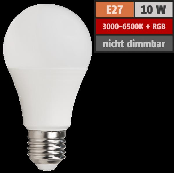 Wifi Smart LED Glühlampe itius, 10W, RGB + CCT, Alexa, Google Assistant, App