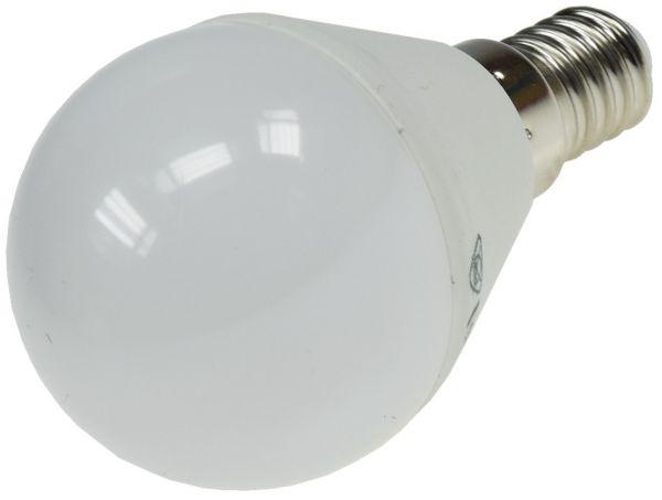 "LED Tropfenlampe E14 ""T25 SMD"" warmweiß 16 SMD LEDs, 3000k, 220lm, 230V/3W, 45mm"