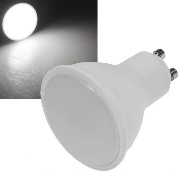 "LED Strahler GU10 ""H50"" 3-Stufen-Dimm 4000k, 400lm, 230V/5W, 110°, neutralweiß"