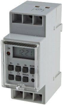 digitale Wochen-Zeitschaltuhr für Schalttafel-Einbau, 230V, max. 3500W