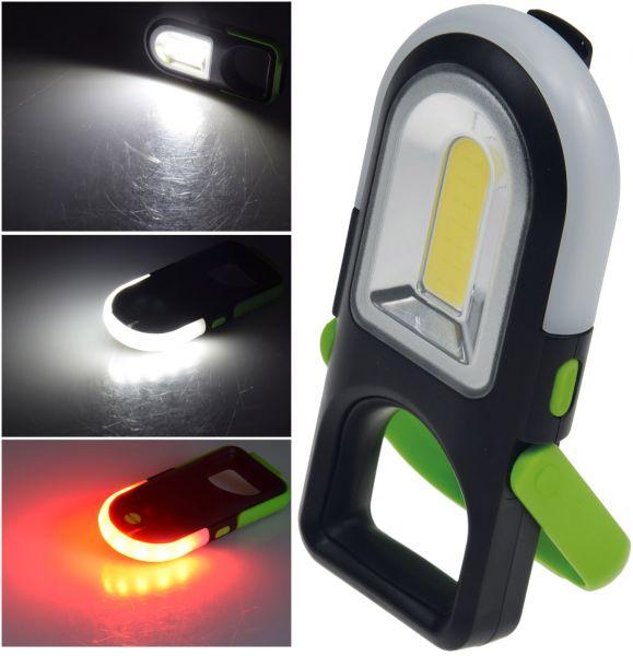 "LED Arbeitsleuchte ""CAL-Rescue Pro"" COB LED, 180 Lumen, Rettungslicht,Magnet"