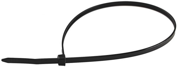 Kabelbinder 370mm x 4,8mm, schwarz 100er Pack, hohe Zugkraft, UV fest