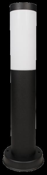 Außenleuchte, 80x450mm, Edelstahl, schwarz, IP44