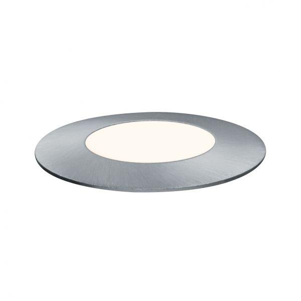 Paulmann Outdoor Plug & Shine Floor Mini IP65 4000K 2,5W 24V 55mm Silber Eds/Kst