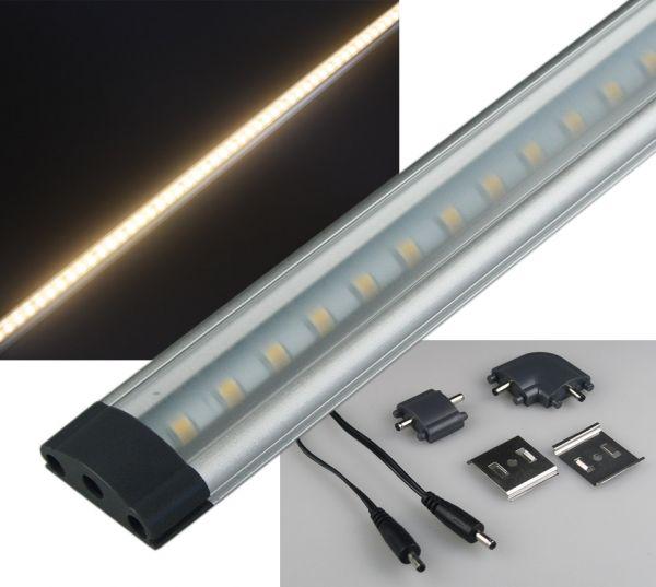 "LED Unterbauleuchte ""CT-FL50"" 50cm 410lm, 5 Watt, 3000K / warmweiß"