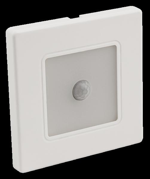 LED-Wand-Einbauleuchte McShine LWE-86WB 2W, 100lm, warmweiß, weißer Rahmen