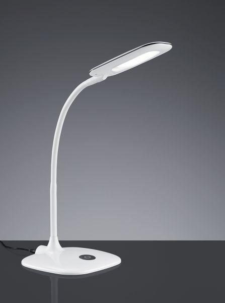 TRIO LED Tischleuchte POLLY weiß