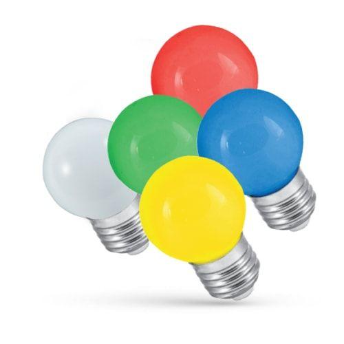 LED Birne verschiedene Farben wählbar RGB / automatischer Farbwechsel