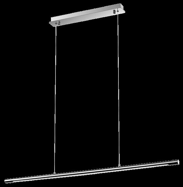 LED Hängeleuchte, Edelstahl, 18W, 1350 lm, IP20, neutralweiß