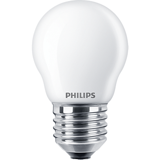 Philips Classic LEDluster Tropfen 4,3W E27 matt