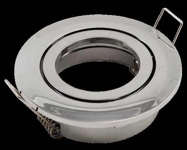 Einbaurahmen McShine DL-248c rund, Ø82mm, schwenkbar, Clip Verschluss