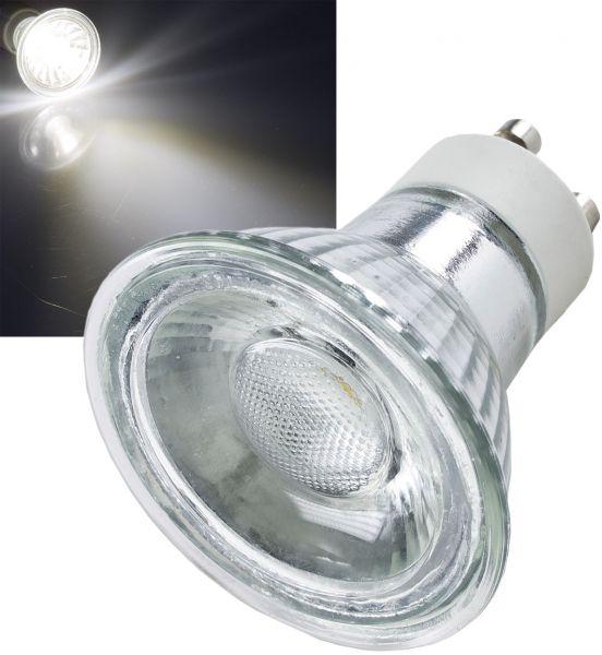 "LED Strahler GU10 ""H50 COB"" 1 COB, 4000k, 420lm, 230V/5W,neutralweiß"