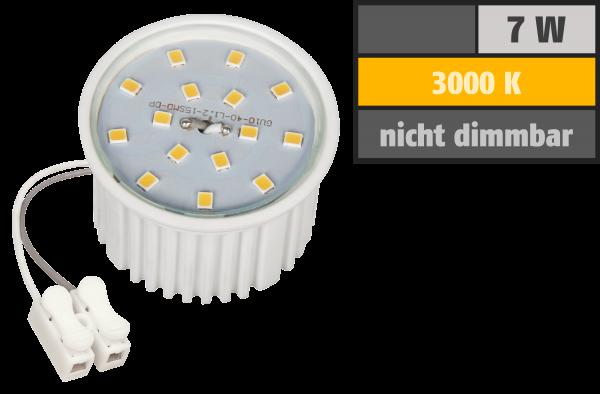 LED-Modul McShine, 7W, 510 Lumen, 230V, 50x33mm, warmweiß, 3000K
