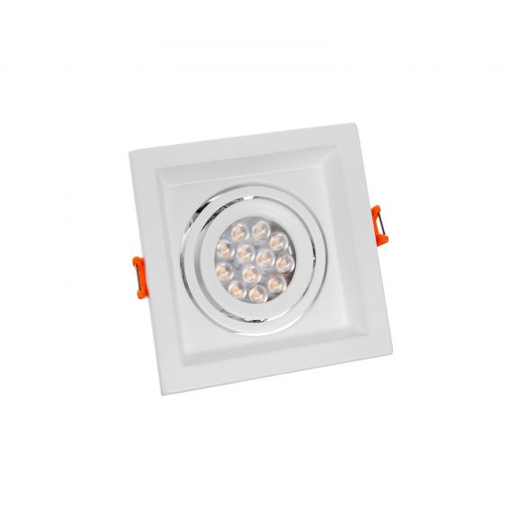 SpectrumLED MDD MINI UNO GU10 Eckig Aluminium Weiß