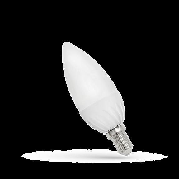 LED Lampe Kerzenform E14 6 Watt Lichtfarbe wählbar