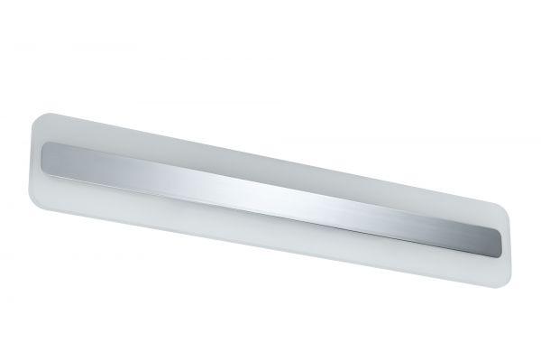 Paulmann WallCeiling Lukida IP44 LED 9W 600mm Chrom/Weiß 230V Alu/Acryl
