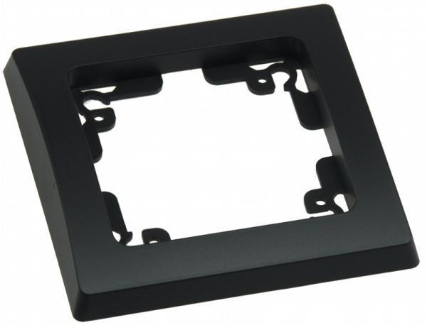 DELPHI 1-fach Rahmen in Schwarz