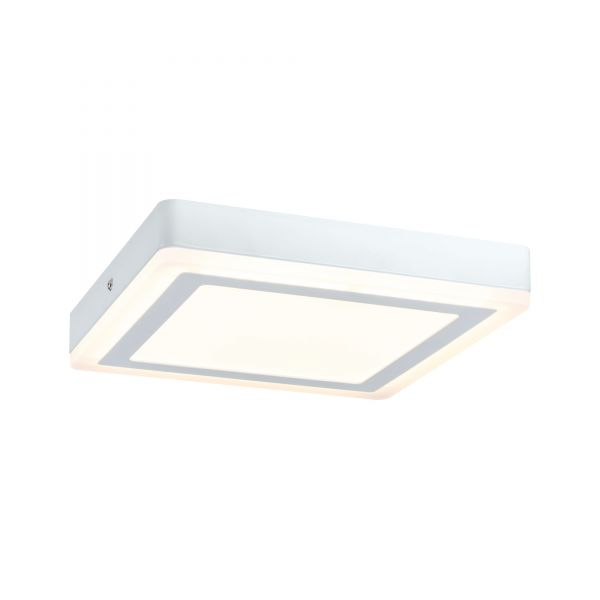 Paulmann WallCeiling Sol LED-Panel 12,2W 245x245mm Weiß 230V Alu