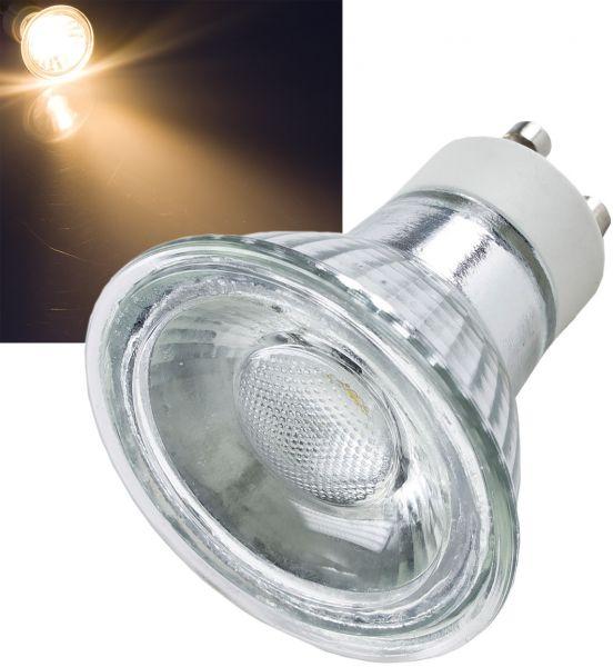 """LED Strahler GU10 """"H35 COB"""" 1 COB, 3000k, 230lm, 230V/3W, warmweiß"""