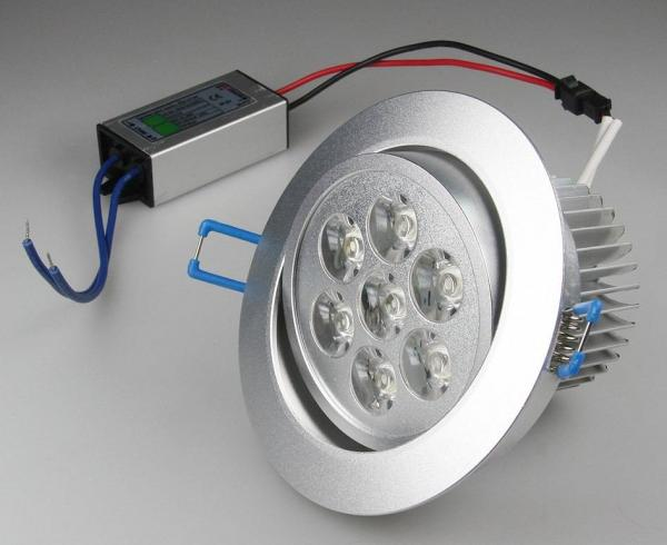 LED-Einbauleuchte RD-7pro 7W 560lm